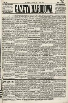 Gazeta Narodowa. 1889, nr55