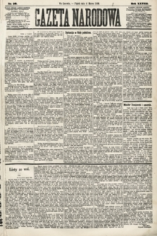 Gazeta Narodowa. 1889, nr56
