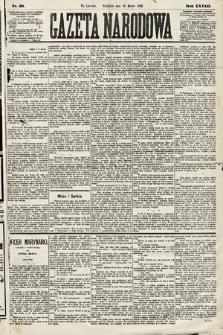 Gazeta Narodowa. 1889, nr58