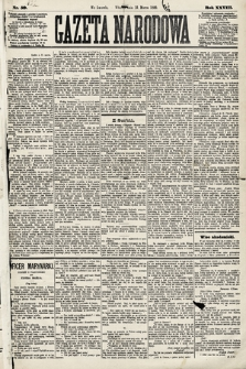 Gazeta Narodowa. 1889, nr59