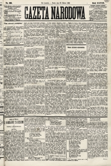 Gazeta Narodowa. 1889, nr66