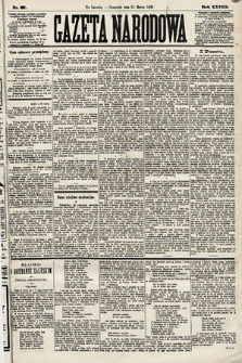 Gazeta Narodowa. 1889, nr67