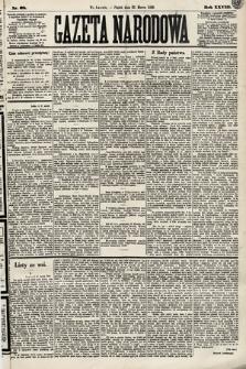 Gazeta Narodowa. 1889, nr68