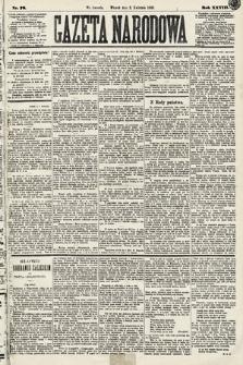 Gazeta Narodowa. 1889, nr76