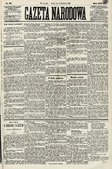 Gazeta Narodowa. 1889, nr77