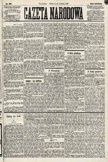 Gazeta Narodowa. 1889, nr79