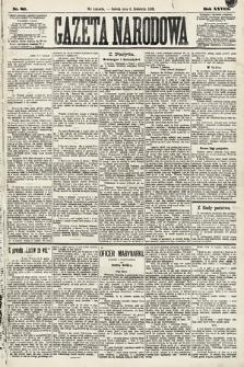 Gazeta Narodowa. 1889, nr80