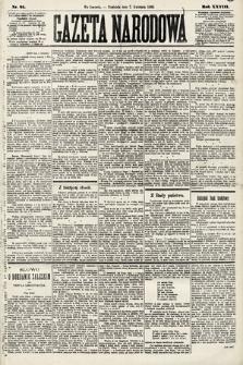 Gazeta Narodowa. 1889, nr81