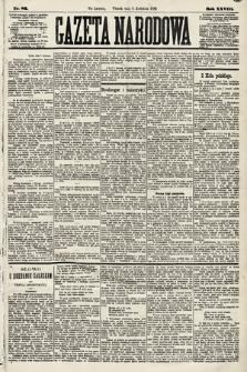 Gazeta Narodowa. 1889, nr82