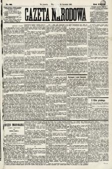 Gazeta Narodowa. 1889, nr88