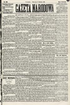 Gazeta Narodowa. 1889, nr89