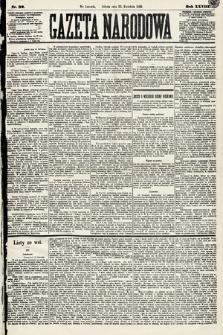 Gazeta Narodowa. 1889, nr92