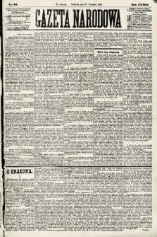 Gazeta Narodowa. 1889, nr93
