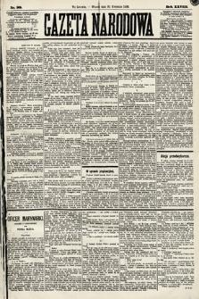 Gazeta Narodowa. 1889, nr99