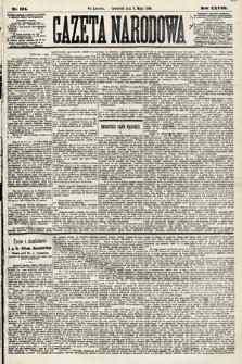 Gazeta Narodowa. 1889, nr101