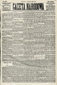 Gazeta Narodowa. 1889, nr103