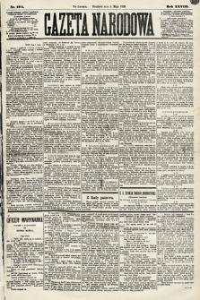 Gazeta Narodowa. 1889, nr104