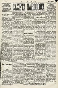 Gazeta Narodowa. 1889, nr105
