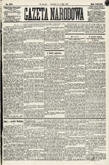 Gazeta Narodowa. 1889, nr107
