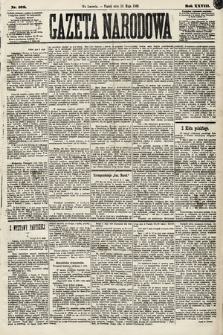 Gazeta Narodowa. 1889, nr108