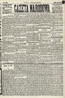 Gazeta Narodowa. 1889, nr109