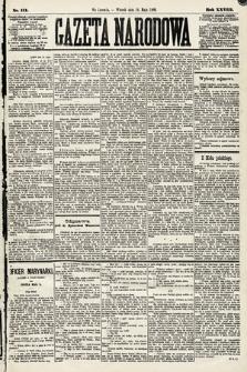 Gazeta Narodowa. 1889, nr111