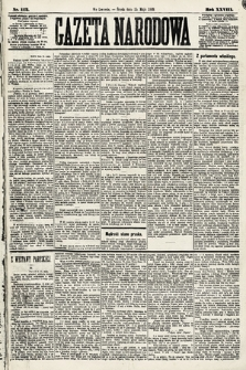 Gazeta Narodowa. 1889, nr112