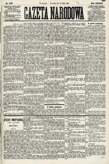 Gazeta Narodowa. 1889, nr113