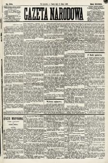 Gazeta Narodowa. 1889, nr114