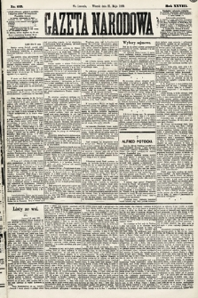 Gazeta Narodowa. 1889, nr117