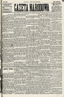 Gazeta Narodowa. 1889, nr118