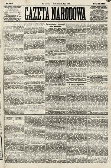 Gazeta Narodowa. 1889, nr124
