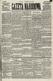 Gazeta Narodowa. 1889, nr126