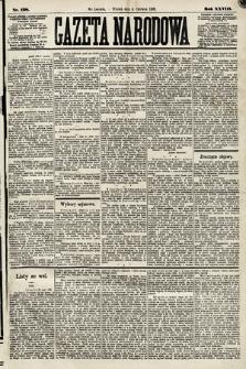Gazeta Narodowa. 1889, nr128