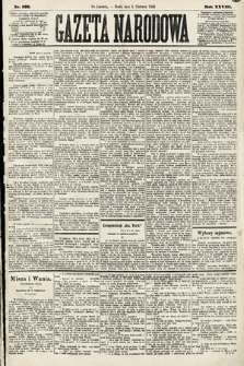 Gazeta Narodowa. 1889, nr129
