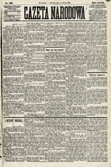 Gazeta Narodowa. 1889, nr130