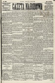 Gazeta Narodowa. 1889, nr132