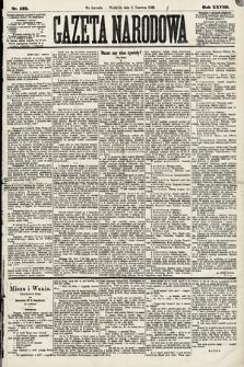 Gazeta Narodowa. 1889, nr133