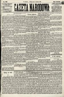 Gazeta Narodowa. 1889, nr137