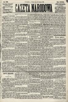 Gazeta Narodowa. 1889, nr139