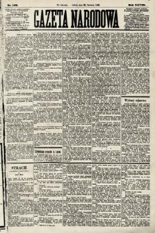 Gazeta Narodowa. 1889, nr142
