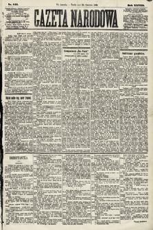 Gazeta Narodowa. 1889, nr145