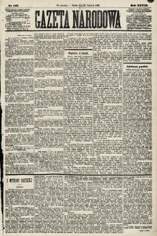 Gazeta Narodowa. 1889, nr147