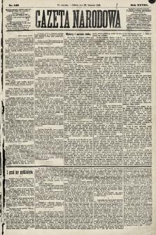 Gazeta Narodowa. 1889, nr148