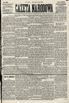 Gazeta Narodowa. 1889, nr150