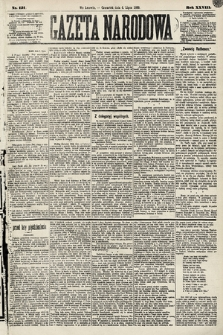 Gazeta Narodowa. 1889, nr151