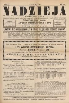 Nadzieja : dwutygodnik zwykazem bieżących ciągnień losów, listów zastawnych, obligacyj indemnizacyjnych innych papierów wartościowych : wiadomości bankowe, kolejowe, ekonomiczne. 1895, nr232