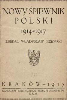 Nowy śpiewnik polski 1914-1917