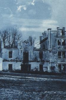 Jarosław, ruiny pałacu hr. Siemieńskiego w Pawłosiowie = Ruinen des Schlosses in Pawłosiów