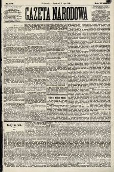 Gazeta Narodowa. 1889, nr152